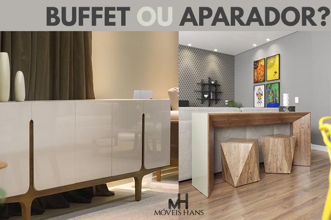 Aparador ou buffet, qual devoescolher?